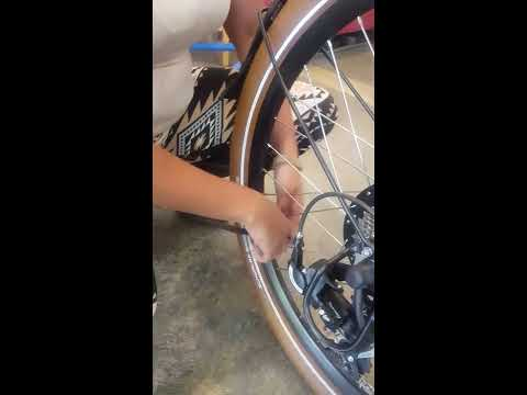 PUMP IT UP:  How to inflate electric bike tires