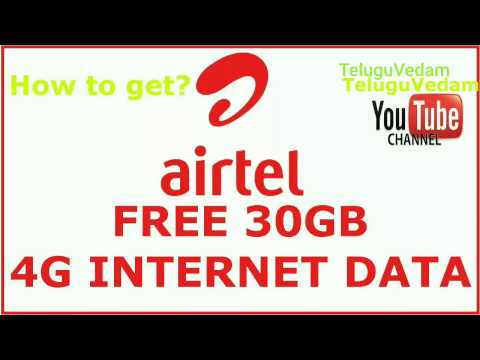 Airtel 30GB free data| Airtel post-paid users can get 30GB free 4G data