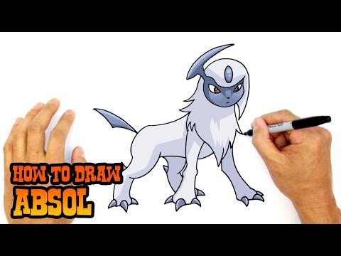 How to Draw Absol | Pokemon