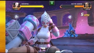 Gwenpool Preview Marvel Contest of Champions | Captain Oliver