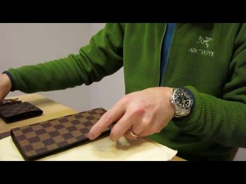 Unboxing Louis Vuitton Men's Long Wallet / ルイヴィトン ポルトフォイユ・ロン