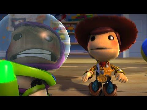 BUZZ LOOK AN ALIEN - Toy Story - LittleBigPlanet 3 Animation