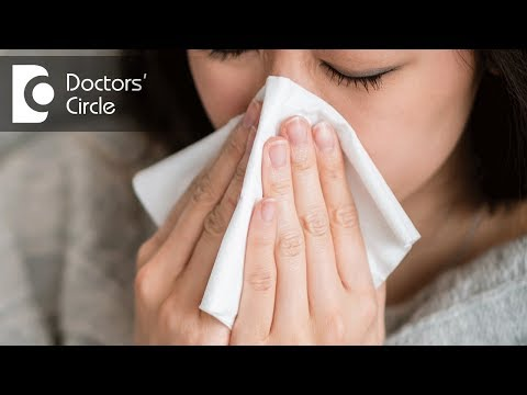 What causes raised eosinophil count with cold,  jaw swelling & ear ache? - Dr. Satish Babu K