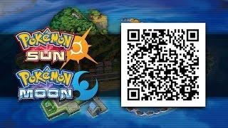 Pokemon Sun and Moon   All QR Codes (Alola Dex)