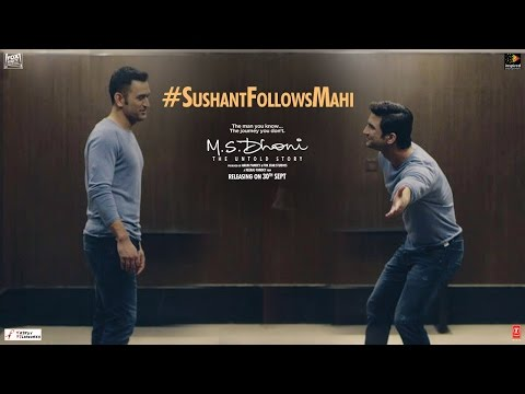 M.S.Dhoni - The Untold Story   Sushant Follows Mahi   Special Video 3