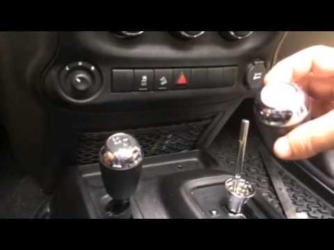 Jeep Shift Knob Removal