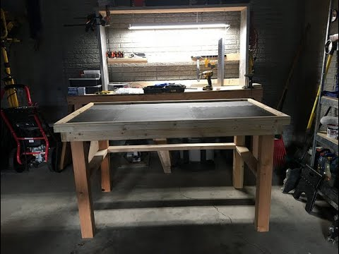How To Build A Workbench - DIY