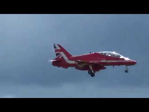 Royal Air Force Red Arrows, Belfast International Airport, August 2017