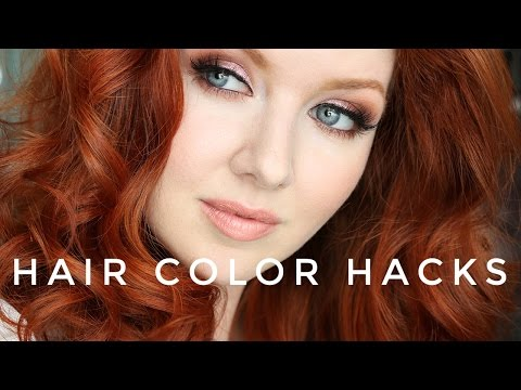 Hair Color Hacks | + My New RED Hair Color!
