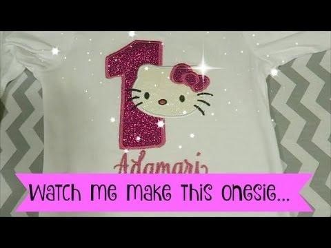 Watch me make this onesie ~ Daily vlog Nov 21 2016