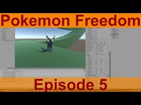 Unity Game Creation: Pokemon Freedom Ep.5 - Alignment