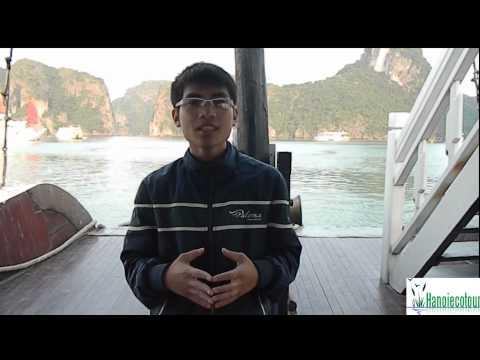 Halong bay tour guide of Hanoi Eco Tour