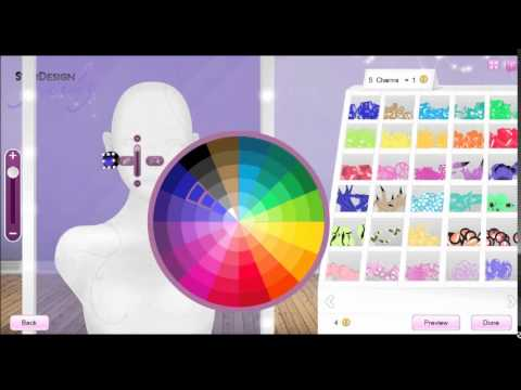 Stardoll: How to make Contact Lenses