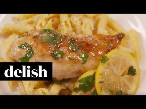 How To Make Lemon Garlic Chicken   Delish