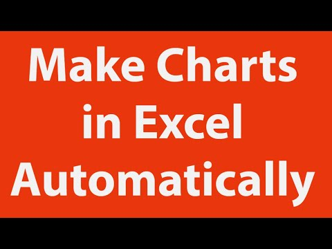 Automate chart creation using Excel macros