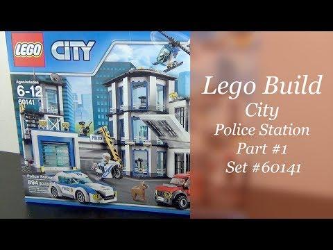 Let's Build - LEGO City Police Station Set #60141 - Part 1