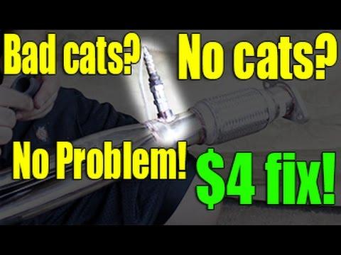 $4 Catalytic Converter P0420 Fix | 02 Sensor Simulator | Pass Emissions | Oxygen sensor