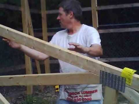 Part II:  how to install trusses by yourself by Jon