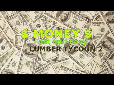 Beginners]How to make $Money$ FAST and SAFE | Lumber Tycoon