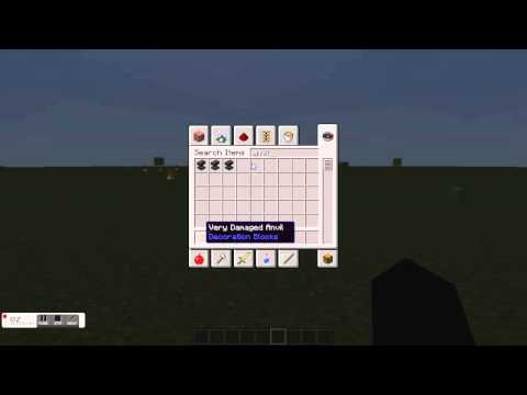 HOW TO MAKE A FIRE BOW IN MINECRAFT