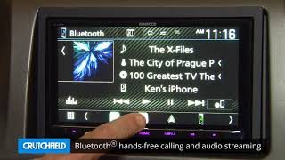 Kenwood Excelon DDX9905S Display and Controls Demo   Crutchfield Video