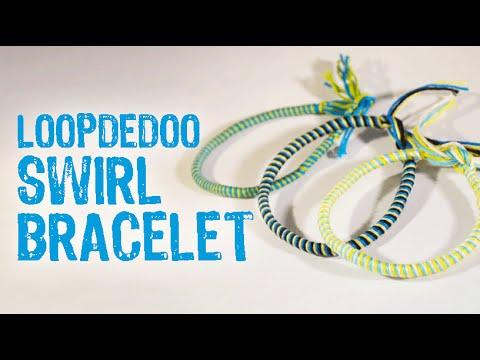 Loopdedoo Swirl Bracelet Tutorial