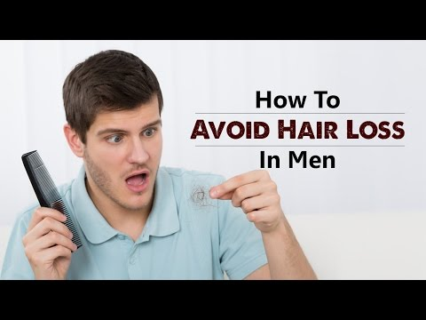 How To Avoid Hair Loss In Men | solution | treatment