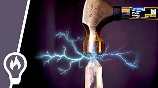 Piezoelectricity - why hitting crystals makes electricity