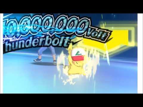 Pokémon Sun/Moon - Ash Pikachu Z-Move (1080p Citra)