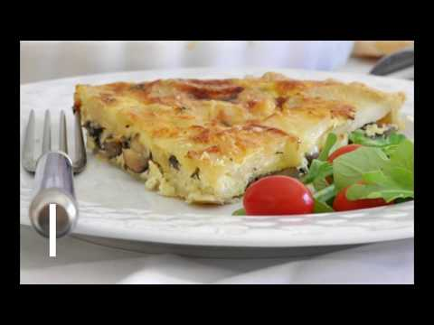 Easy to Make Vegetarian Quiche by Cooking with Manuela