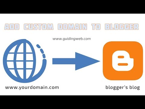 Add custom Domain to Bloggers Blog (1 and 1 Domain)