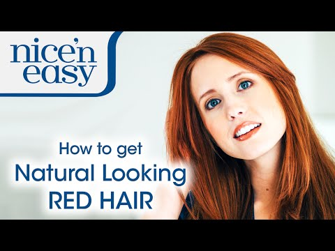 At Home Hair Dye: How to Get a Natural Red Hair Colour | Nice 'n Easy