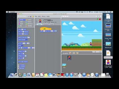 How to make a mario animation using scratch (Part One)