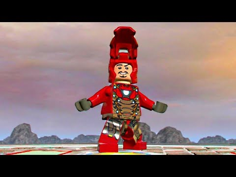 LEGO Marvel Super Heroes 2 - Iron Man Mark 47 Free Roam Gameplay