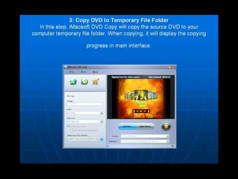 How to copy movie DVD to a blank DVD disc