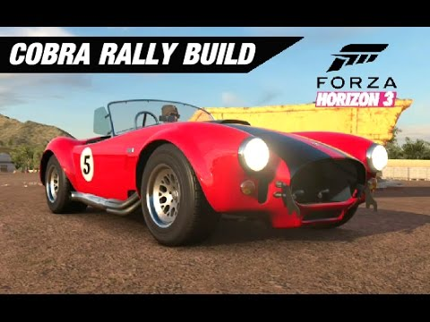 AWD Shelby Cobra Rally Build - Forza Horizon 3