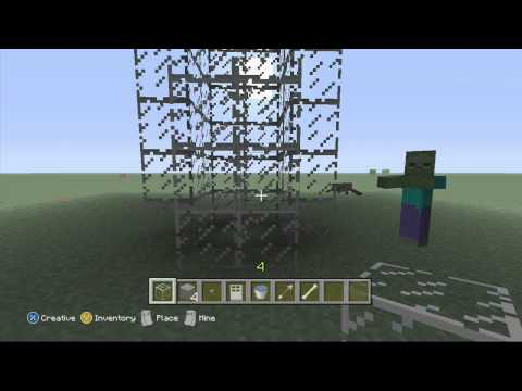 Minecraft Xbox 360 Edition | How To Make A Mob Spawner Trap!