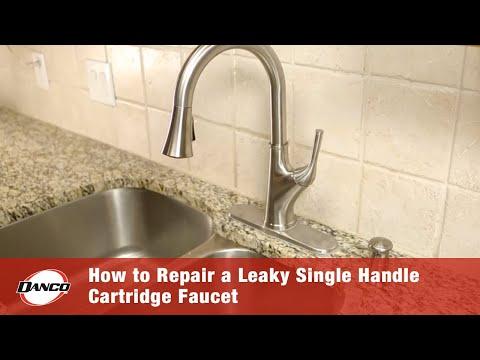 Danco   How To Repair A Leaky Single Handle Cartridge Faucet
