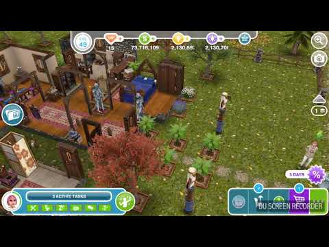 The Sims Freeplay -  Be Rude to a Sim -  Weekly Task