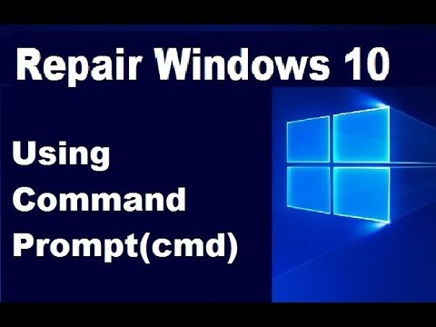 How to Repair Windows 10 Using Command Prompt(cmd)