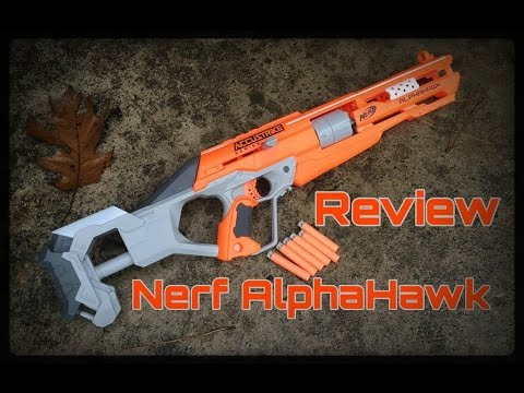Honest Review: Nerf AlphaHawk, Accurate Revolver/Rifle
