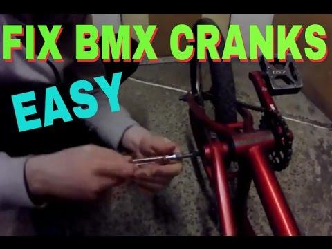 HOW TO FIX A BMX CRANK