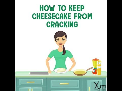 How to Keep Cheesecake From Cracking