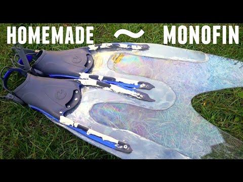 How to make a homemade mermaid monofin