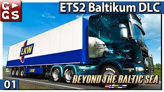 BEYOND THE BALTIC SEA DLC! First Look [Euro Truck Simulator