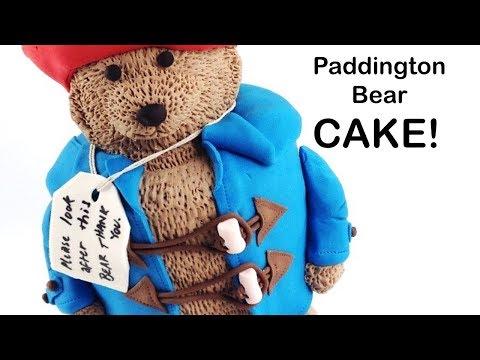 AMAZING Paddington Bear CAKE!