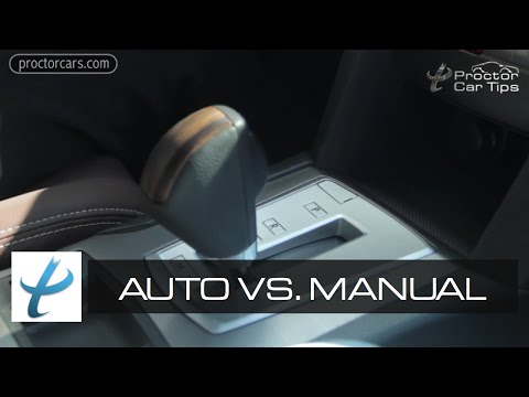 Automatic vs. Manual Transmission - Parts, Types, and Maintenance