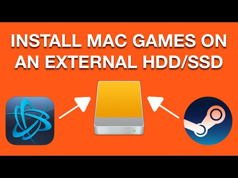 How To: Install Games On An External HDD | Steam & Battle.net/Blizzard [Mac OS X]