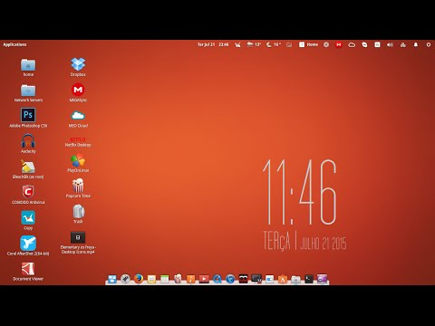 🔴 Elementary os freya - How do I change the color of desktop icon text.