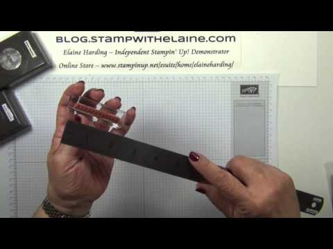 182   Top Tip   How to Stamp a Cross Stitch Sampler